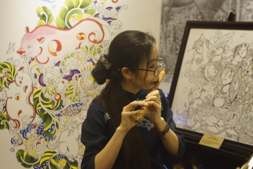 trải nghiệm thưởng trà và nghe sáo trúc tại Sài Gòn cùng Vibeji
