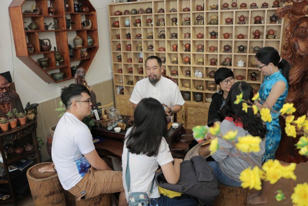 trải nghiệm tìm hiểu về các loại trà tại Sài Gòn cùng Vibeji